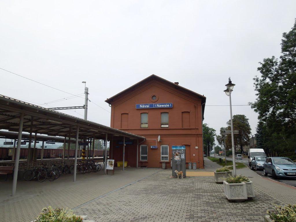 nádraží Návsí
