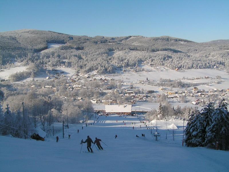 lyžařské areály