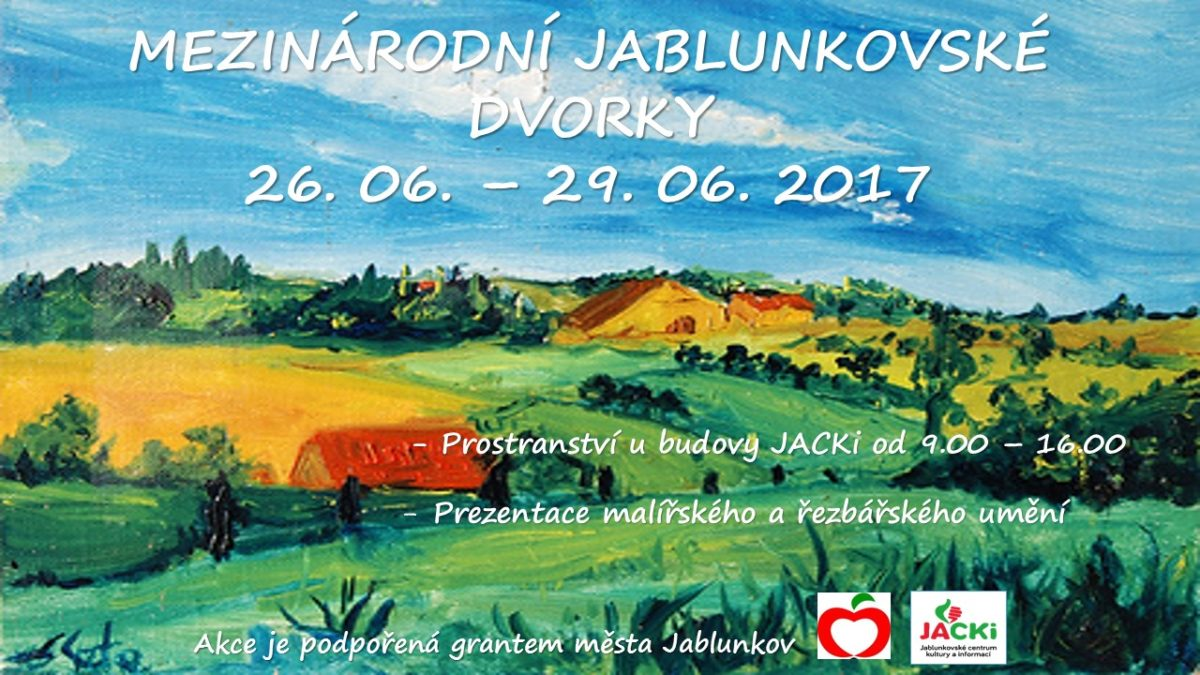 Plakát - Jablunkovské dvorky