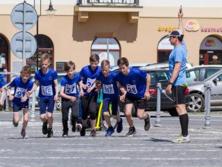 Silniční běh městem Jablunkovem