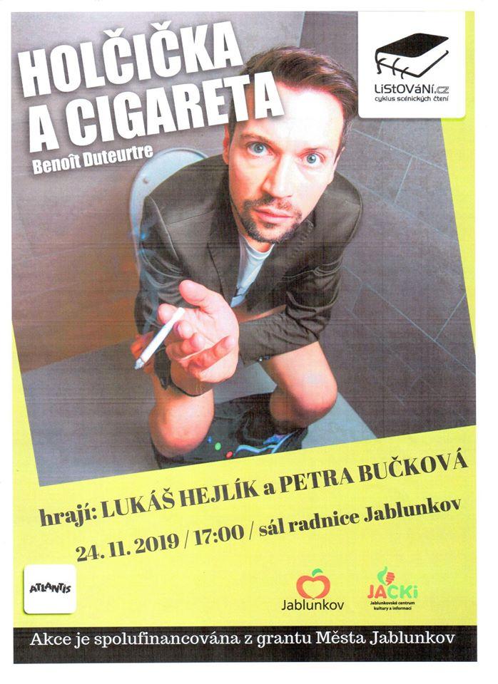 Holčička a cigareta 2019
