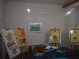 Výstava obrazů dětí s handicapem 2020