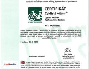 cyklisté vítáni Jablunkov