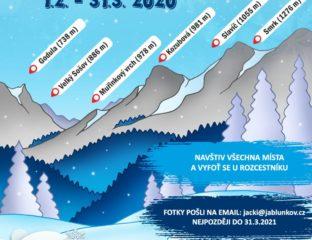 Beskydský průzkumník zima 2021